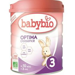 Mleko następne od 10 miesięcy do 3 lat BIO 800 g BABYBIO