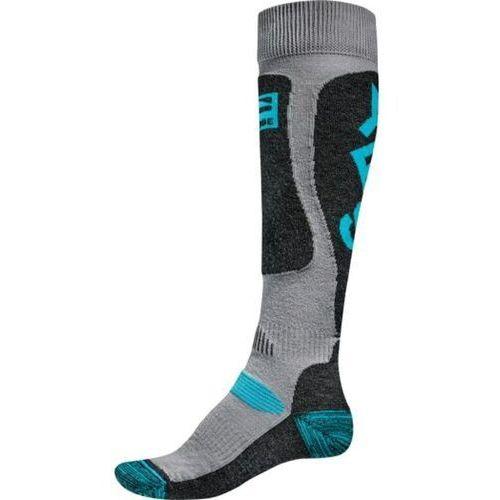 Odzież do sportów zimowych, skarpetki GLOBE - Yes/Globe Pow Pow Sock Grey/Blue (GREYBLUE)