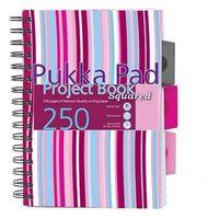 Zeszyty, Kołozeszyt Pukka-Pad Project Book Squared PROBSQ A5/250k. kratka