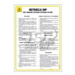 Instrukcja BHP przy obsłudze zawieszanego rozsiewacza nawozów mineralnych