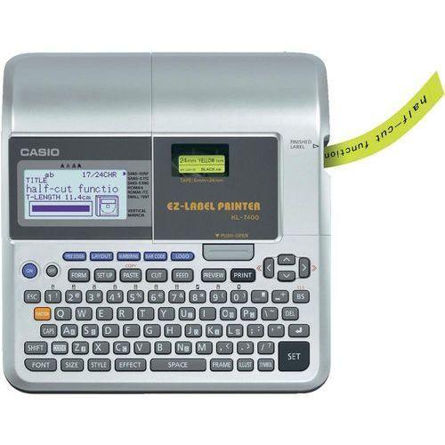 Drukarki termiczne, Casio KL-7400