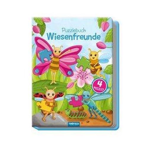 Puzzle, Puzzlebuch Wiesenfreunde, Kinderbuch, Tiere, Tierbuch Angelmahr, Anja
