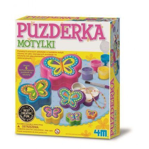 Kreatywne dla dzieci, PUZDERKA MOTYLKI 4M - Szybka wysyłka - 100% Zadowolenia. Sprawdź już dziś!