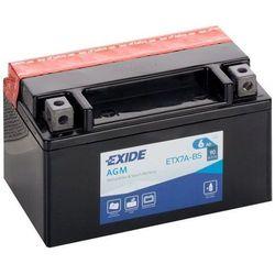 Akumulator motocyklowy EXIDE ETX7A-BS/ YTX7A-BS 12V 6Ah 90A EN L+