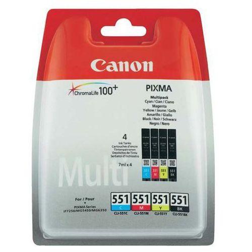 Tusze do drukarek, Tusz CLI-551 CMYBK BLISTER W/O 6509B009