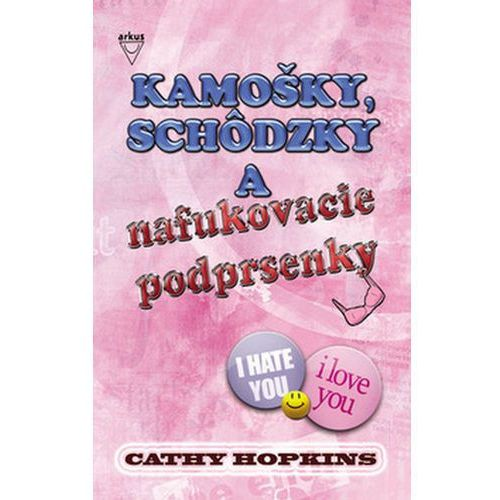 Pozostałe książki, Kamošky, schôdzky a nafukovacie podprsenky Cathy Hopkins