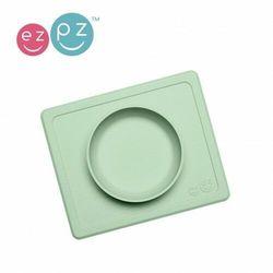 EZPZ - Silikonowa miseczka z podkładką 2w1 Mini Bowl - pastelowa zieleń