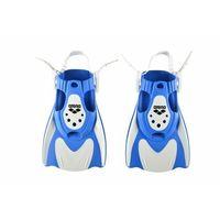 Maski, płetwy i fajki, ARENA PŁETWY POWERFIN FIT WHITE-BLUE, KOLOR: BLUE, DŁUGOŚĆ PIÓRA: KRÓTKIE, ROZMIAR PŁETW: M 34-40