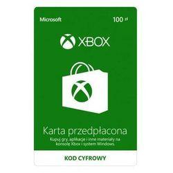 MICROSOFT Karta przedpłacona Xbox 100 PLN