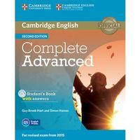 Książki medyczne, Complete Advanced 2Ed Sb Pack (Sb with answers, Class Audio CD (3)) egzamin 2015 (opr. miękka)