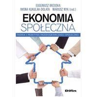 Biblioteka biznesu, Ekonomia społeczna - Nyk Mariusz (opr. miękka)
