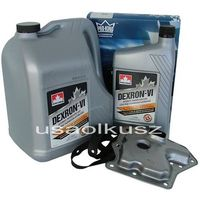 Pozostałe oleje, smary i płyny samochodowe, Filtr oraz olej Dextron-VI automatycznej skrzyni biegów Mercury Villager -1996