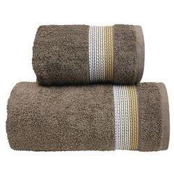 Ręcznik bawełniany Greno Ombre Brązowy