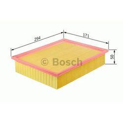 FILTR POWIETRZA BOSCH F026400105 JAGUAR S-TYPE/XF/XJ 2,5/2,7D/3,0/4,0/4,2/5,0 06-