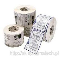 Etykieta 62x100mm folia biała PE 500 szt