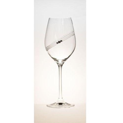 Kieliszki i karafki, B. Bohemian kieliszki do białego wina SPARKLING RING 2 sztuki 360 ml