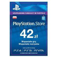 Klucze i karty przedpłacone, Sony PlayStation Network 42 zł [kod aktywacyjny]