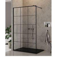 Ścianki prysznicowe, Ścianka 90 cm EXK-0104 New Modus Black New Trendy DODATKOWY RABAT W SKLEPIE NA KABINĘ