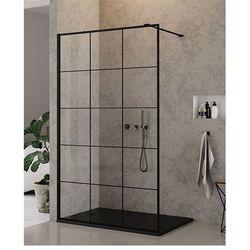 Ścianka 90 cm EXK-0104 New Modus Black New Trendy DODATKOWY RABAT W SKLEPIE NA KABINĘ