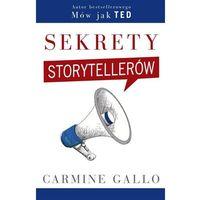 Hobby i poradniki, Sekrety storytellerów (opr. broszurowa)