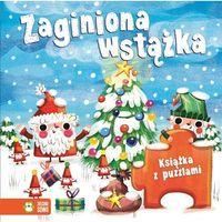 Książki dla dzieci, Zaginiona wstążka Książka z puzzlami. Darmowy odbiór w niemal 100 księgarniach!