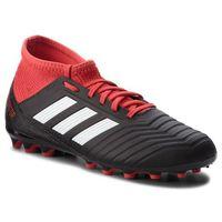 Piłka nożna, Buty adidas - Predator 18.3 Ag J CG6358 Cblack/Ftwwht/Red