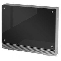 Stojący lub wiszący piec akumulacyjny dynamiczny FSR 35 GSK - z czarnym szkłem - Nowość 2018 + grzejnik do łazienki gratis