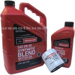 Oryginalny filtr oraz syntetyczny olej silnikowy Motorcraft 5W30 Ford Explorer EcoBoost