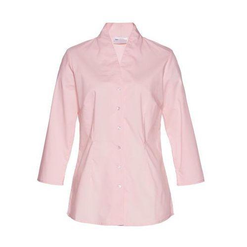 Bluzki, Bluzka ze stójką bonprix pastelowy jasnoróżowy