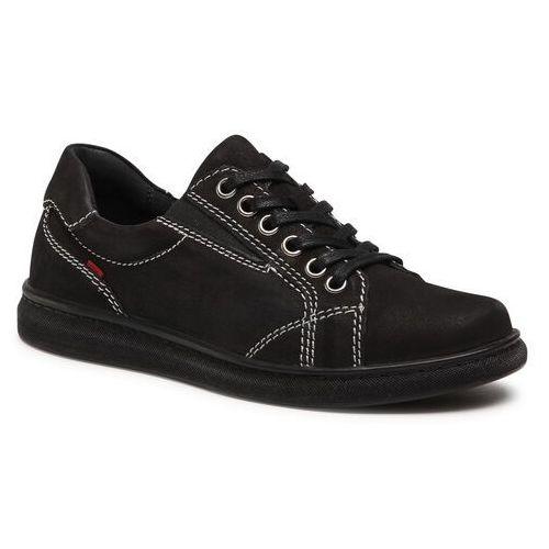 Damskie obuwie sportowe, Sneakersy GO SOFT - 4839-01 Black
