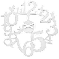 Zegar ścienny biały Pi:p KZ-2327525