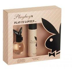 Playboy Play It Lovely Woda toaletowa 30 ml+Dezodorant 75 ml