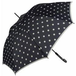Knirps T.703 stick automatic Parasol na kiju, długi 88 cm dot art black ZAPISZ SIĘ DO NASZEGO NEWSLETTERA, A OTRZYMASZ VOUCHER Z 15% ZNIŻKĄ
