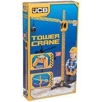 Pozostałe samochody i pojazdy dla dzieci, JCB Dżwig sterowany na kabel 100 cm