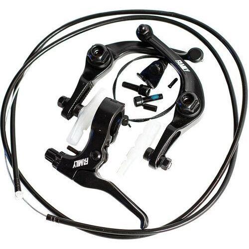Pozostałe części rowerowe, hamulec FAMILY - Bmx Brake Kit Black Right (BLACK)