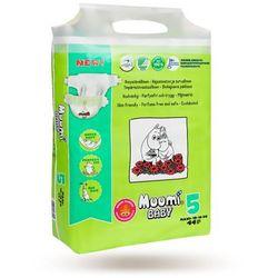 MUUMI Baby Pieluchy 5 Maxi 44szt pieluchomajtki hipoalergiczne i ekologiczne (10-16kg)