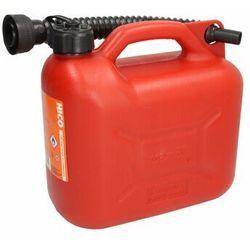 Kanister plastikowy z lejkiem BORG-HICO 5 litrów