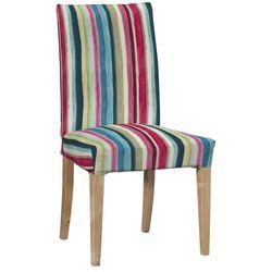 Dekoria Sukienka na krzesło Henriksdal długa 133-23, krzesło Henrisdal
