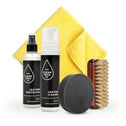 CleanTech Co Leather Care Kit - Kompletny zestaw do pielęgnacji skóry