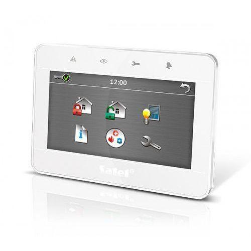 """Centralki alarmowe, INT-TSG-WSW Manipulator graficzny z ekranem dotykowym 4,3"""" (biały) SATEL"""