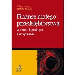 Finanse małego przedsiębiorstwa w teorii i praktyce zarządzania - Halina Zadora
