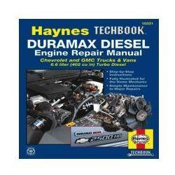 Duramax Diesel Engine Techbook for Chevrolet & GMC Trucks & Vans (01-12) (USA)
