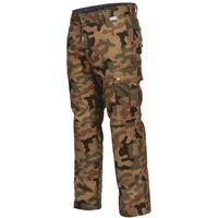 Spodnie i kombinezony ochronne, Spodnie męskie robocze moro LEŚNIK