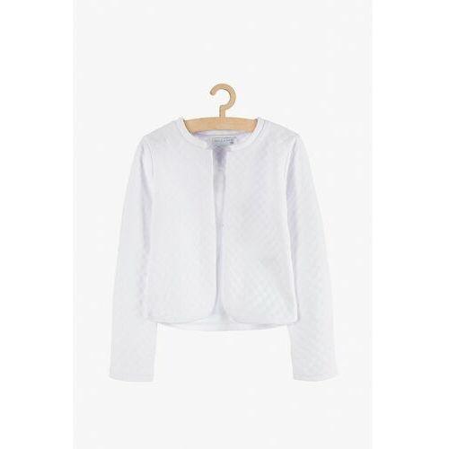 Sweterki dziecięce, Sweterek dziewczęcy biały 3E3801 Oferta ważna tylko do 2031-07-22