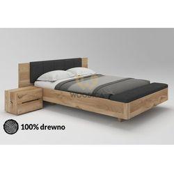 Łóżko dębowe Lewitujące 02 160x200