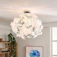 Lampy sufitowe, Lampa sufitowa Maple z pięknym wzorem w liście