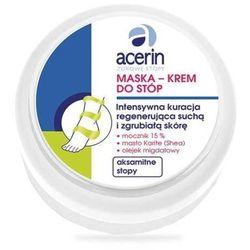ACERIN Maska-krem do stóp intensywna regeneracja 100ml