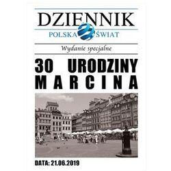 Zaproszenie personalizowane Gazeta na urodziny - 1 szt.