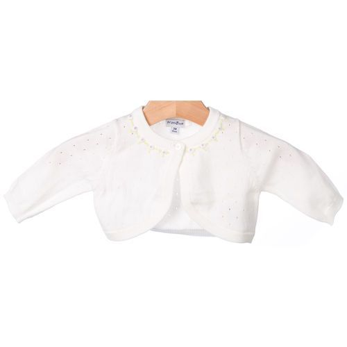 Bolerka dla dzieci, Primigi bolerko dziewczęce 62 biały