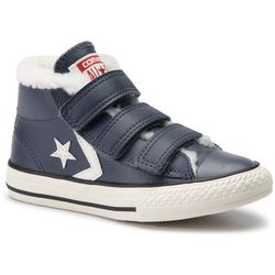 Trampki CONVERSE - Star Player Ev 3v Mid 658154C Sharkskin/Egret/Terra Red